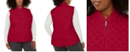 Karen Scott Plus Size Quilted Puffer Vest, Created For Macy's