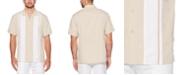Cubavera Men's Big & Tall Regular-Fit Embroidered Panel Shirt