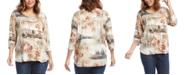 Karen Kane Italian Montage T-Shirt