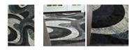 "Global Rug Designs Yorba YOR04 Gray 7'10"" x 10'2"" Area Rug"