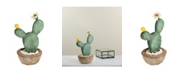 Northlight Southwestern Style Potted Artificial Cactus with Flowers