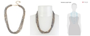 Robert Lee Morris Soho Mixed Pearl & Chain Layered Necklace