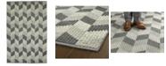 """Kaleen Paracas PRC06-75 Gray 3'6"""" x 5'6"""" Area Rug"""