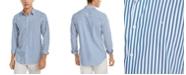Calvin Klein Men's Striped Stretch Cotton Shirt