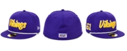 New Era Minnesota Vikings On-Field Sideline Home 59FIFTY Fitted Cap