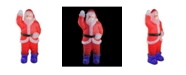 Northlight 3.75' Lighted Commercial Grade Acrylic Santa Claus Christmas Display Decoration