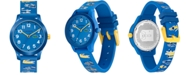 Lacoste Kid's 12.12 Blue Logo Silicone Strap Watch 32mm