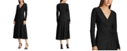 Lauren Ralph Lauren Velvet Fit-and-Flare Dress