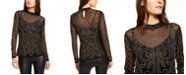 INC International Concepts INC Illusion Studded Top, Created For Macy's