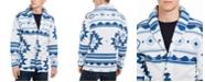 Levi's Men's Reverve Geometric Fleece Cardigan