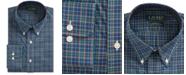 Lauren Ralph Lauren Men's Classic Fit Easy Care Plaid Dress Shirt