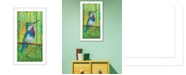 """Trendy Decor 4U Plovercrest By Lisa Morales, Printed Wall Art, Ready to hang, White Frame, 8"""" x 14"""""""