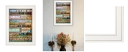 """Trendy Decor 4U Today Is by Marla Rae, Ready to hang Framed print, White Frame, 15"""" x 19"""""""