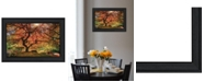 Trendy Decor 4U Trendy Decor 4U First Colors of Fall I by Moises Levy, Ready to hang Framed Print Collection