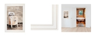 "Trendy Decor 4U Laundry Room by Lori Deiter, Ready to hang Framed Print, White Frame, 15"" x 21"""