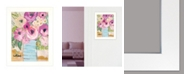 """Trendy Decor 4U Granny's Visit by Kait Roberts, Ready to hang Framed Print, White Frame, 15"""" x 19"""""""