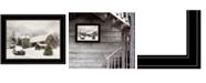 Trendy Decor 4U Trendy Decor 4U Farmhouse Christmas by Lori Deiter, Ready to hang Framed Print Collection