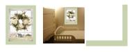 "Trendy Decor 4U Pleasant View by Lori Deiter, Ready to hang Framed Print, Light Green Window-Style Frame, 14"" x 18"""