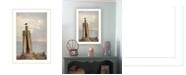 "Trendy Decor 4U Birds Eye View By Lori Deiter, Printed Wall Art, Ready to hang, White Frame, 14"" x 20"""