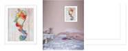 "Trendy Decor 4U Seahorse II By Sear, Printed Wall Art, Ready to hang, White Frame, 14"" x 18"""