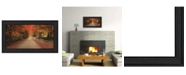 "Trendy Decor 4U October Lane By Robin-Lee Vieira, Printed Wall Art, Ready to hang, Black Frame, 20"" x 11"""