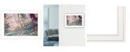 "Trendy Decor 4U Trendy Decor 4U Olive Branch by Nancy Wood, Ready to hang Framed Print, White Frame, 21"" x 15"""