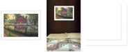 "Trendy Decor 4U Trendy Decor 4U Barnyard Memories by Kim Norlien, Ready to hang Framed Print, White Frame, 20"" x 14"""
