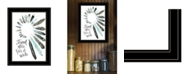 """Trendy Decor 4U Travel Often Far and Wide by Masey St, Ready to hang Framed Print, Black Frame, 15"""" x 19"""""""