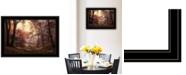 "Trendy Decor 4U The Pool by Martin Podt, Ready to hang Framed Print, Black Frame, 21"" x 15"""