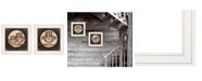 "Trendy Decor 4U Owl Always Love Need You 2-Piece Vignette by Marla Rae, White Frame, 15"" x 15"""