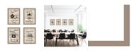 "Trendy Decor 4U Trendy Decor 4U Friendship Collection 4-Piece Vignette by Millwork Engineering, Taupe Frame, 10"" x 14"""