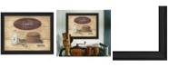 "Trendy Decor 4U Trendy Decor 4U Home Sweet Home By Pam Britton, Printed Wall Art, Ready to hang, Black Frame, 19"" x 15"""
