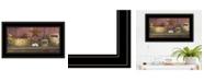 "Trendy Decor 4U Trendy Decor 4U Rise and Shine by Billy Jacobs, Ready to hang Framed Print, Black Frame, 21"" x 12"""