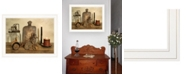 """Trendy Decor 4U Trendy Decor 4U Sweet Cream Butter by Billy Jacobs, Ready to hang Framed Print, White Frame, 27"""" x 21"""""""