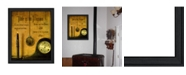 """Trendy Decor 4U Time By Billy Jacobs, Printed Wall Art, Ready to hang, Black Frame, 21"""" x 27"""""""