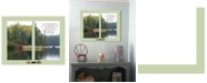 "Trendy Decor 4U Beach Directional by Graffitee Studios, Ready to hang Framed Print, White Frame, 20"" x 26"""