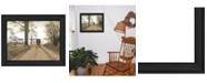"Trendy Decor 4U Headin' Home By Billy Jacobs, Printed Wall Art, Ready to hang, Black Frame, 27"" x 21"""