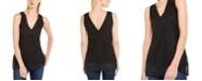INC International Concepts INC V-Neck Rhinestone Sleeveless Sweater, Created For Macy's