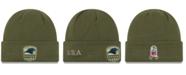 New Era Carolina Panthers On-Field Salute To Service Cuff Knit Hat