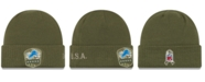 New Era Detroit Lions On-Field Salute To Service Cuff Knit Hat