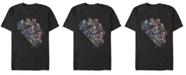 Marvel Men's Avengers Endgame Group Action, Short Sleeve T-shirt