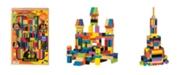 T.S. Shure Archiquest Master Builder Wooden Building Blocks Set, 136-Pieces