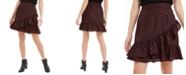 Maison Jules Printed Cross-Ruffled Skirt, Created for Macy's