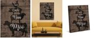 "Creative Gallery Barnyard Animal Sounds 36"" x 24"" Canvas Wall Art Print"