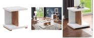 Furniture of America Jasmino Open Shelf End Table