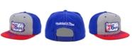 Mitchell & Ness Philadelphia 76ers C-Code Snapback Cap