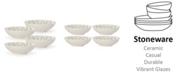 Lenox Textured Neutrals Lattice All Purpose Bowls Set/4