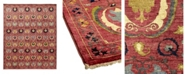 """Timeless Rug Designs CLOSEOUT! One of a Kind OOAK929 Raspberry 10'3"""" x 14'4"""" Area Rug"""