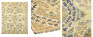 """Timeless Rug Designs CLOSEOUT! One of a Kind OOAK976 Ivory 5'2"""" x 7'7"""" Area Rug"""