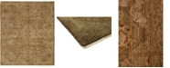 """Timeless Rug Designs CLOSEOUT! One of a Kind OOAK142 Cocoa 8'1"""" x 9'7"""" Area Rug"""